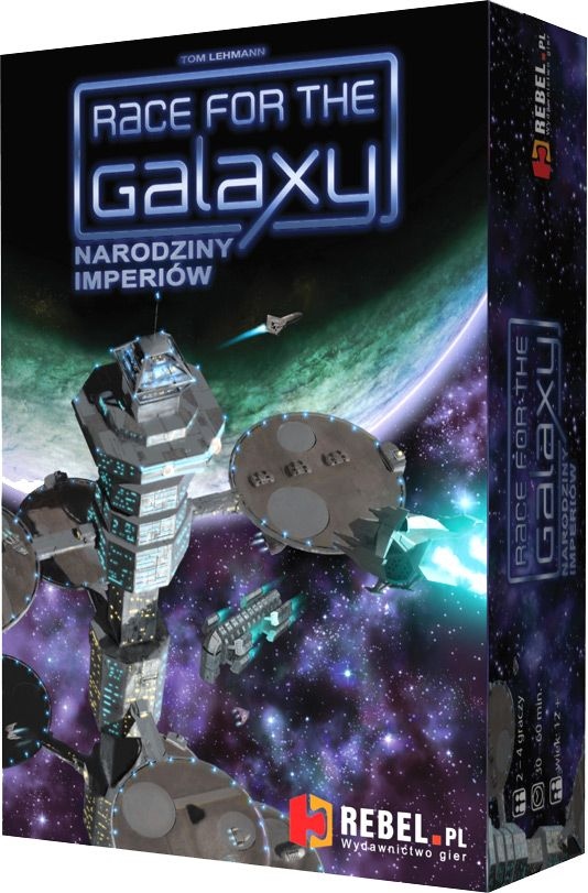 Race for the Galaxy: Narodziny Imperiów, Karcianka