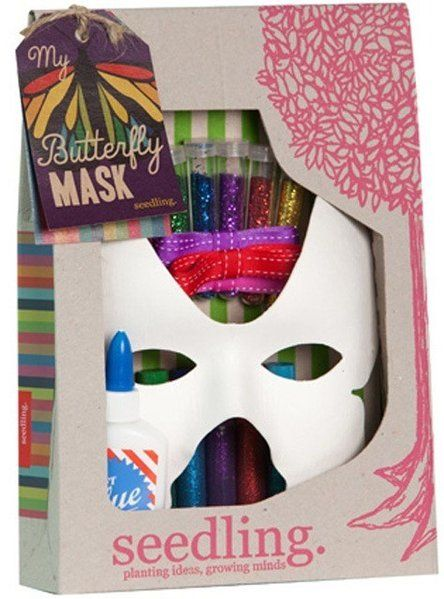 Butterfly Mask - White Apple Gifts