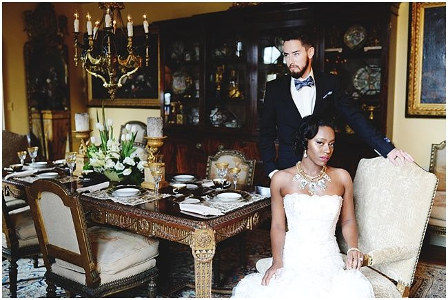 Simply Opulent by LaDonna Lanier Events   Nu Bride   Stephanie Parsley Photography   modern bride and groom