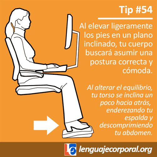 postura correcta al sentarse