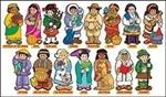 Around The World Kids Bulletin Boar TF-3081 Teachers Friend Social Studies | K12 School Supplies | Teacher Supplies