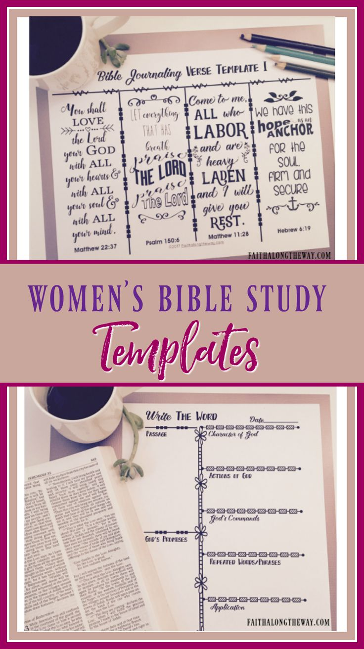 Make Bible study simple and practical with 10 printable templates for the busy woman. It includes a prayer request journal, Bible jounaling templates, Write the Word form, Verse Mapping template, Chapter study forms and the 10 minute Bible study- Read & Respond templates. Growing in faith is simple and practical with Women's Bible Study Templates! (aff)