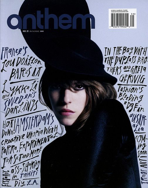 Anthem: Issue 35  / repinned on Toby Designs