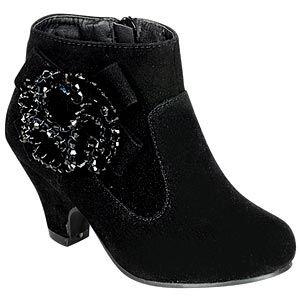 little girls dressy ankle boots   fancy booties for little girls   black dress boots