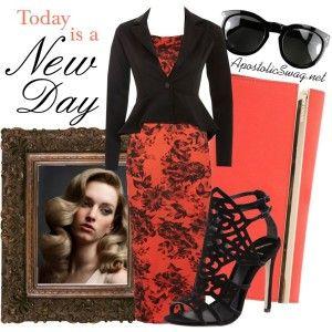 Vintage rose print dress, peplum jacket, Brian Atwood heeled sandals, Michael Kors clutch