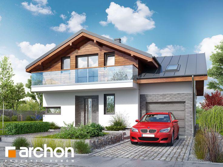 Projekt domu Dom w budlejach ver.2 - ARCHON+