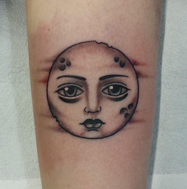 17 Best Ideas About Full Moon Tattoos On Pinterest Moon