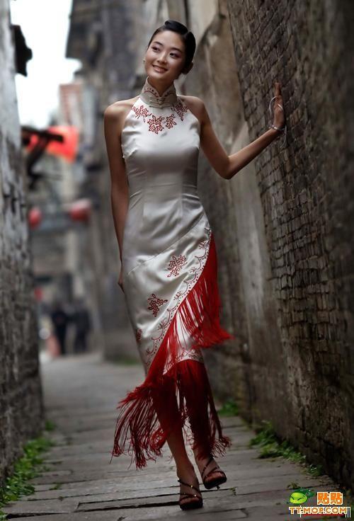 qipao - abito tradizionale mandarino