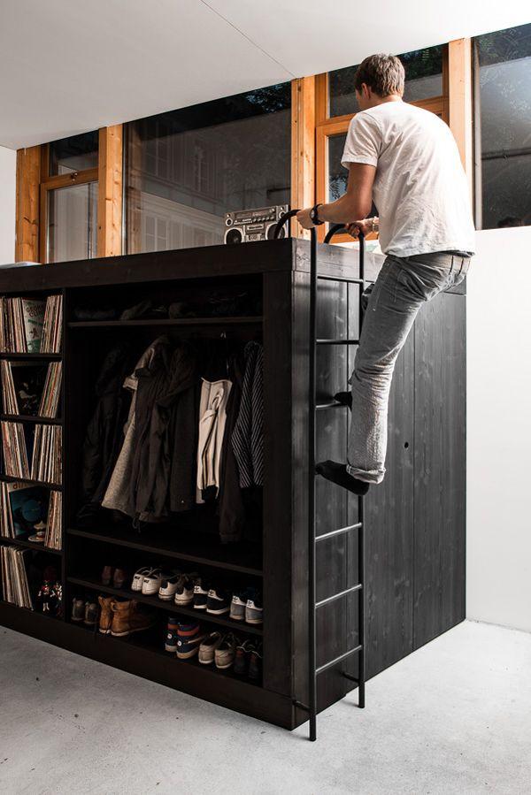 11 besten Homes Bilder auf Pinterest - hochbetten erwachsene kleine wohnung