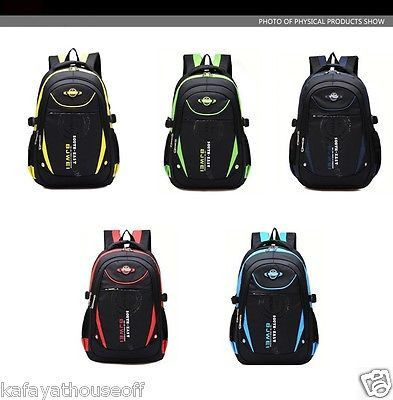 Famous Unisex Teenager Backpack School Bag Soft Handle Polyester