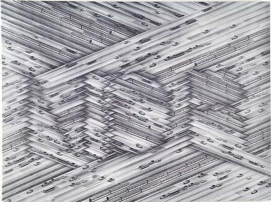 Thomas Bayrie - NDR, 1976  Heliography on cardboard  59,2 x 78,4 cm