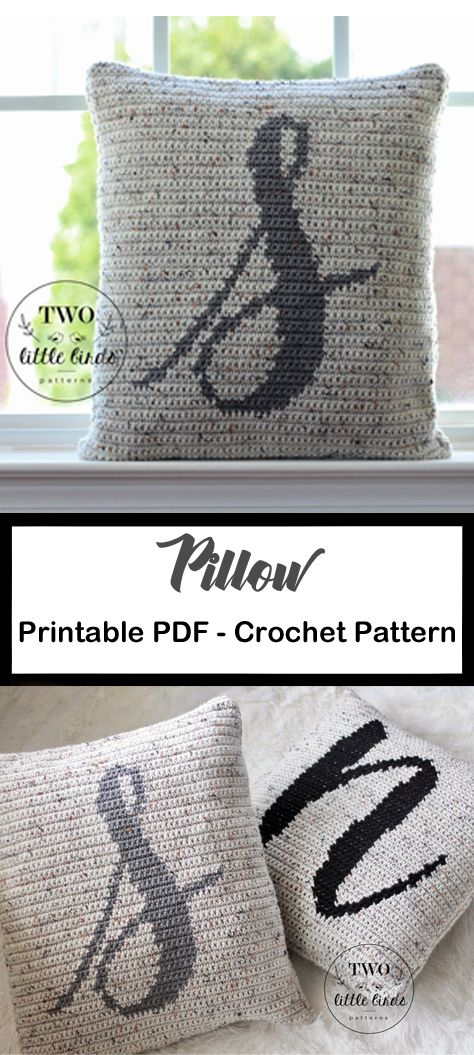 Pillow Crochet Patterns – Update Your Home – A M…
