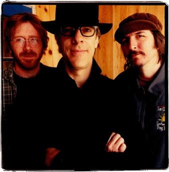 "Stewart Copeland with ""Oysterhead"" (2002) - a power trio with guitarist Trey Anastasio of Phish, bassist Les Claypool of Primus,"