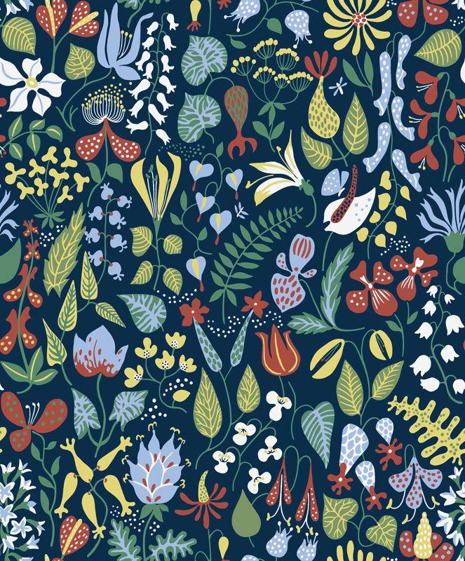 Herbarium 02 från Boråstapeter