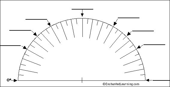 Label Protractor | Interactive Math Notebook Ideas ...