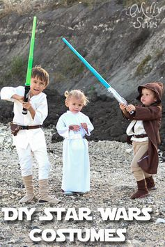 DIY Kids Star Wars Costumes