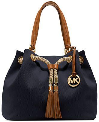 MICHAEL Michael Kors Handbag, Marina Large Gathered Tote - Tote Bags - Handbags & Accessories - Macy's