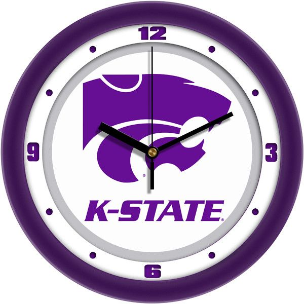 NCAA Kansas State Wildcats-Traditional Wall Clock