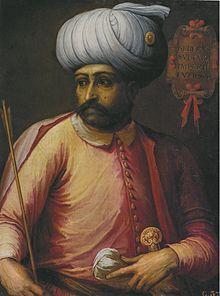 """Osmanský sultán a chálífa Selim ISelim I. (10. října 1465/ 1466/ 1470 – 22. září 1520) mnohdy přezdívaný """"Hrozný"""" byl osmanským sultánem v letech 1512 - 1520.."""
