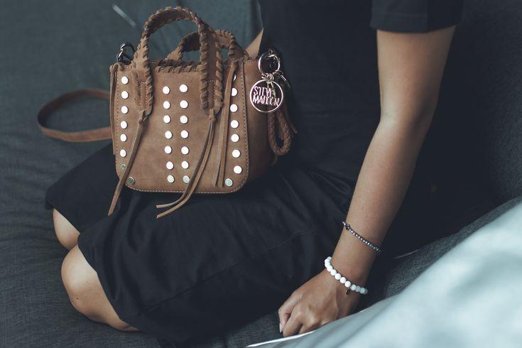 #black #summer #dress #girl #boho #bandana #asos #stevemadden #blogger #fashion #look #outfit