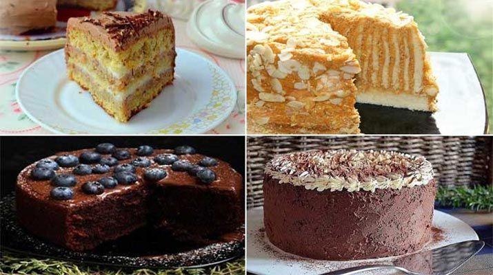 Торты к празднику — 4 волшебных рецепта. Лучшие рецепты для вас на сайте «Люблю готовить»