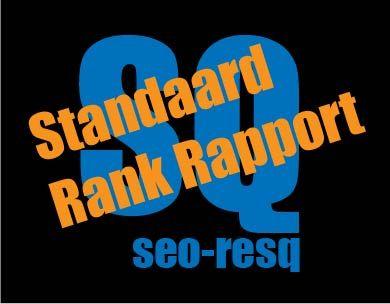Standaard SEO Rank Rapport door seo-resq.