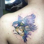 tania catclaw, catclawtattoo, tattrx, tatuadora, tatuagem aquarela, lisboa, lisbon tattoo artist, watercolor tattoo artist