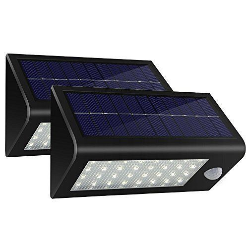 2 Outdoor Solar LED Lights Waterproof Motion Sensor Security Yard Garden Light  #OutdoorLights