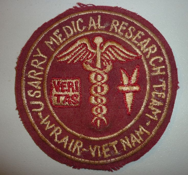 Special Forces Patch N 555 Epidimiology US Medical Research Vietnam War | eBay