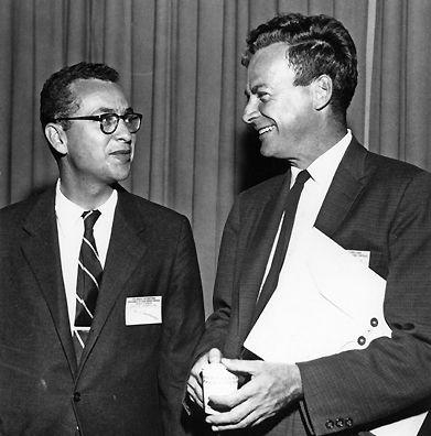 Murray Gell-Mann & Richard Feynman