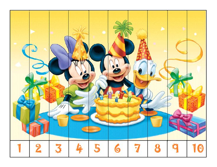 Puzzel met getallen 1 t/m 10