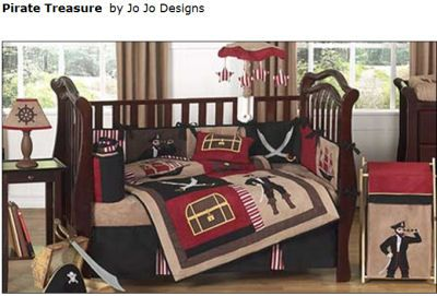 pirate baby room | Pirate Baby Bedding