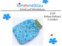 1320 ebook Babyschlafsack 0-12 Monate