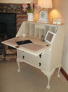 PRETTY BUREAU FINISHED IN ANNIE SLOAN PAINT AND WAX | eBay
