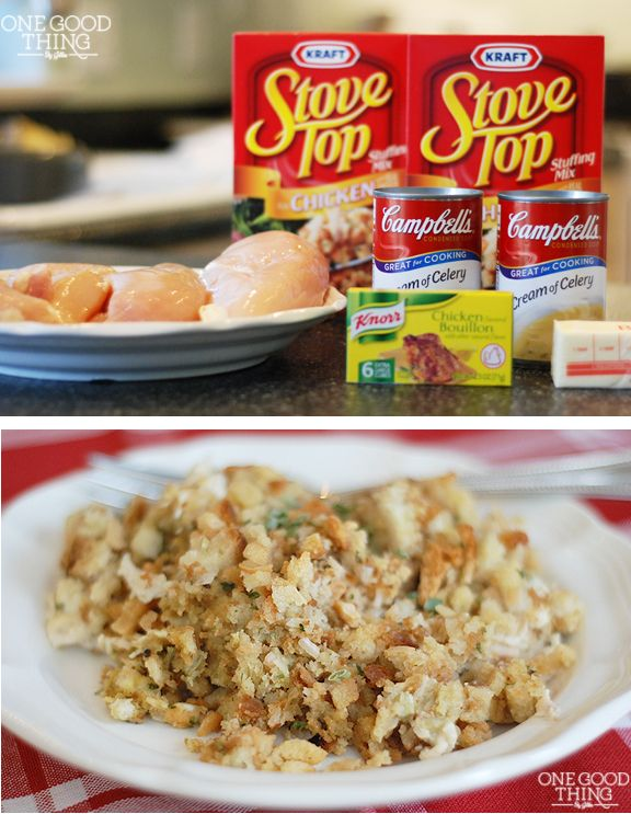 3rd Generation Chicken and Stuffing Casserole