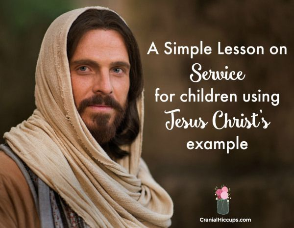 this super simple lesson on service teaches children about