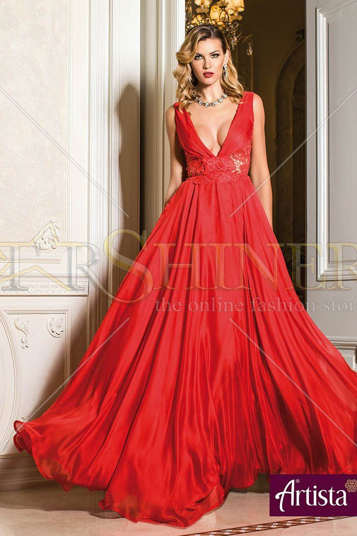 Artista Gentle Intention Red Dress