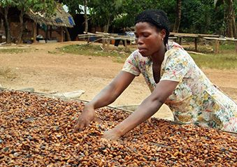 Meet Vida Tsatso Boaful, a cocoa farmer from Nkranfum, Ghana, and hear her story of chocolate | Rainforest Alliance