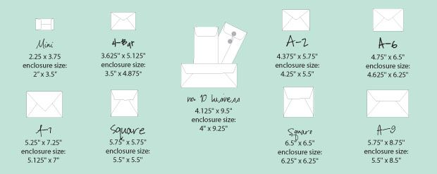 Best 25 Envelope Size Chart Ideas On Pinterest