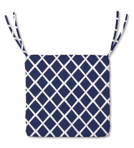 Navy Blue Chair Cushions With Ties Patio Chair Cushions Ikea