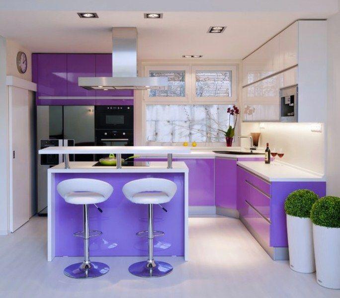 Dapur Warna Ungu
