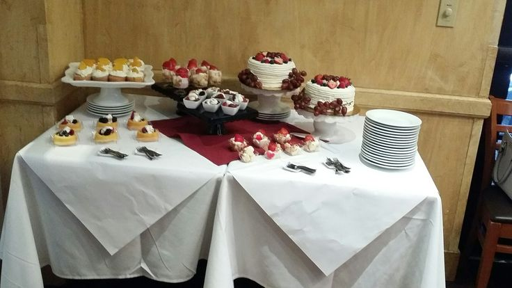 Under The Tuscan Sun Themed Summer Bridal Shower! Guest wore hats and summer dresses to add to the theme. Dessert Table.
