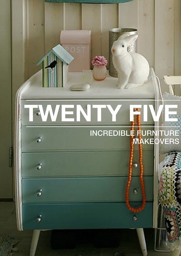 25 Incredible Furniture Makeovers 224 best Painted
