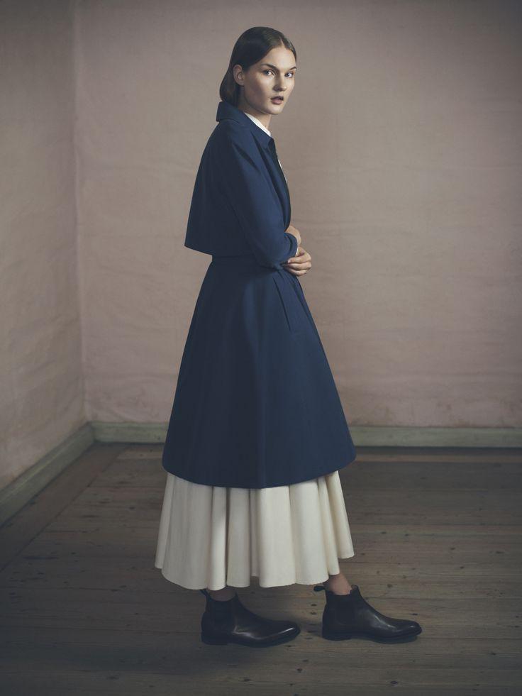 Dodor Coat, Shirly Shirt and Kiona Skirt | Samuji Pre-Fall 2015 Collection