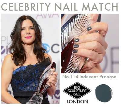Celebrity Nail Match: #BioSculptureGel No.114 Indecent Proposal