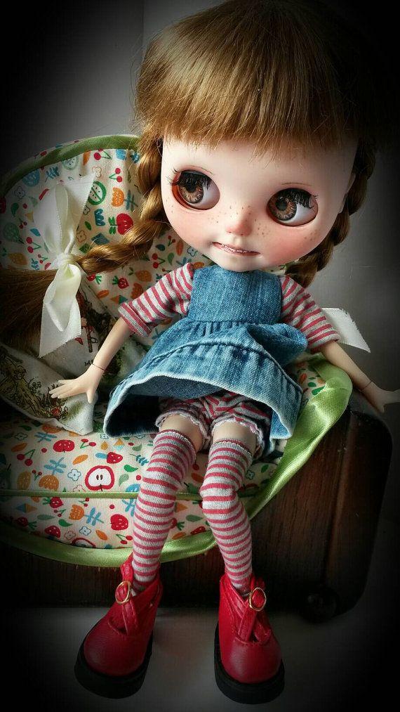 Džínové oblečení pro Blythe