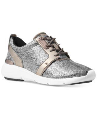MICHAEL KORS Michael Michael Kors Amanda Trainer Sneakers. #michaelkors #shoes # sneakers
