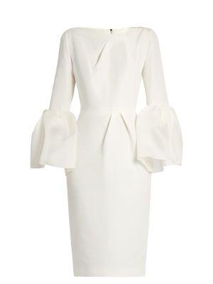 Margot bell-sleeved dupion dress   Roksanda   MATCHESFASHION.COM US