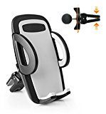 #10: ilikable Twist-lock Air Vent Car Mount Holder with 360 Rotation and Release Button for Cell Phone iPhone Android Smartphone GPS Devices - stereos (http://amzn.to/2bJuIg3) video (http://amzn.to/2bK3YaB) speakers (http://amzn.to/2bZfMGS) accessories (http://amzn.to/2brKMAO) radar detectors (http://amzn.to/2bZfobC) GPS navigation (http://amzn.to/2bZeuMn)