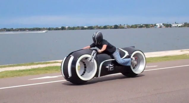 All-Electric Lightcycle Tron Cycle